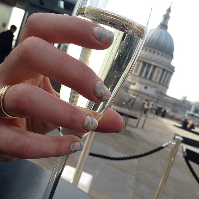 nail by natalie rose mobile nail technician london St Pauls! Camo nails, Prosecco Shellac Sun Bleached Cake Pop and Jessica GELeration Surfer Boyz n Berry manicure