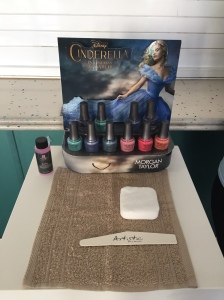 nails by natalie rose london mobile nail technician manicure pedicure cinderella premiere leicester square odeon
