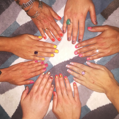 nails by natalie rose london mobile nail technician manicure pedicure Walthamstow wedding nails