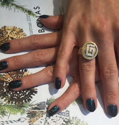 nails by natalie rose london mobile nail technician manicure pedicure oliver bonas christmas launch party 2015