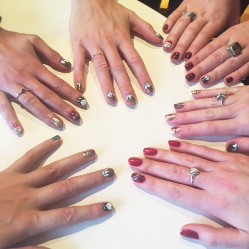 nails by natalie rose london mobile nail technician manicure pedicure wandsworth christmas