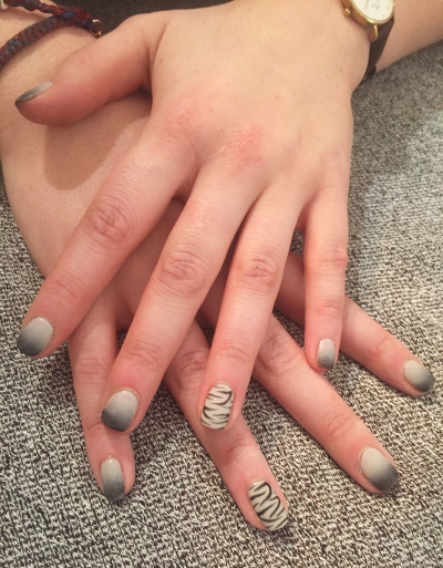 nails by natalie rose london mobile nail technician manicure pedicure tiger nail art