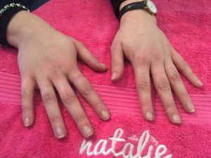 nails by natalie rose london mobile nail technician manicure pedicure dark sides nail art demo