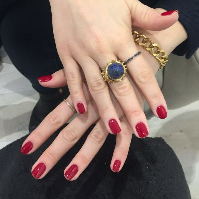 nails by natalie rose london mobile nail technician manicure pedicure Merlot by Jessica