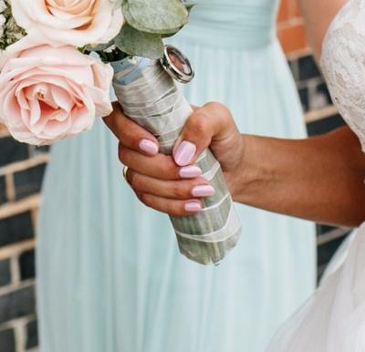 nails by natalie rose London Wedding Nails