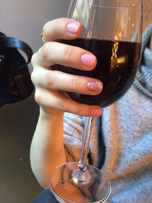 nails by natalie rose london mobile nail technician manicure pedicure Ring Finger Sparkle