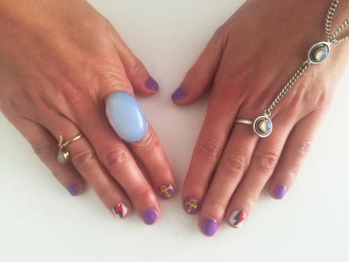 nails by natalie rose london mobile nail technician manicure bowie prince nail art