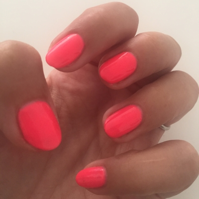 nails by natalie rose london mobile nail technician manicure pedicure Gelish brights have more fun)
