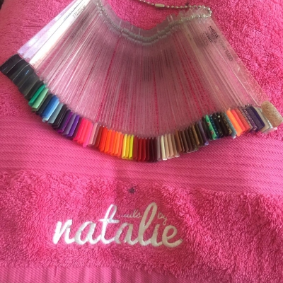 nails by natalie rose london mobile nail technician manicure pedicure colour choice hens rainbow