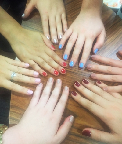 nails by natalie rose london mobile office nail party Communicate