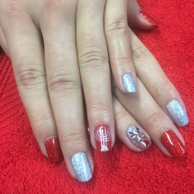 nails by natalie rose london mobile christmas nail technician manicure pedicure