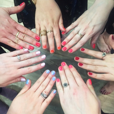 nails by natalie rose london mobile nail hens manicures