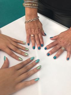 nails by natalie rose london mobile nails Nailing Mental Health at Beauty Show Olympia