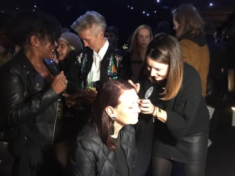 Swarovski Glitter Party nails by natalie rose london
