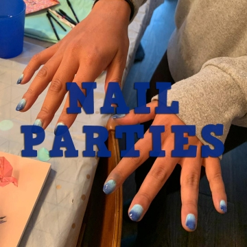 nails by natalie rose mobile manicure london nail party