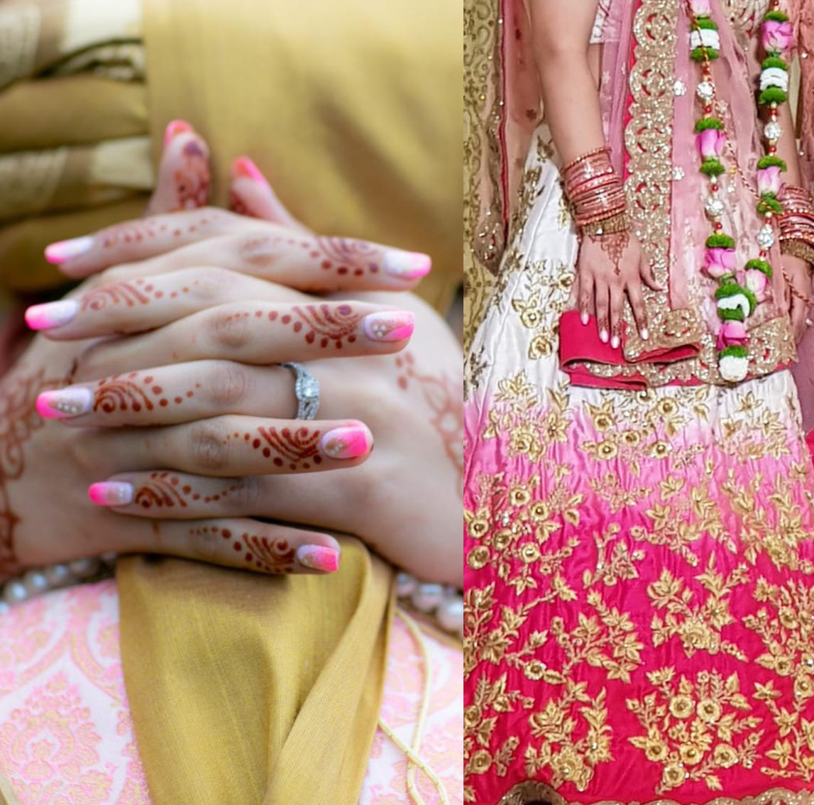Indian Wedding Nails