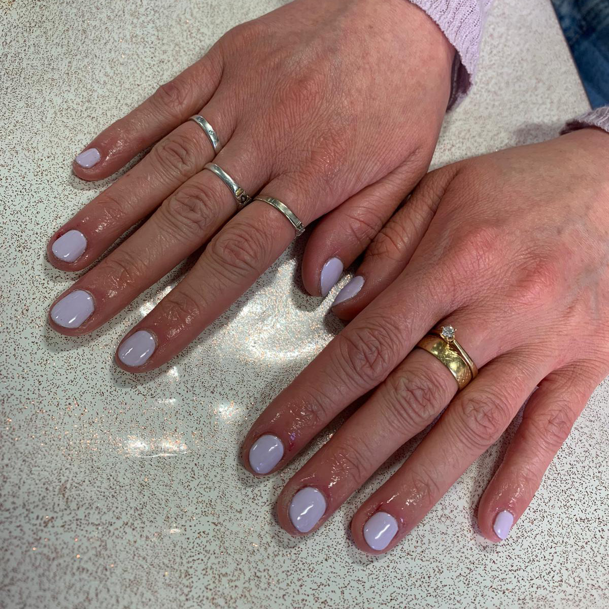 nails by natalie rose at Splendid Office mobile london manicures