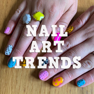 Nail Art Trends nails by natalie rose mobile manicure london